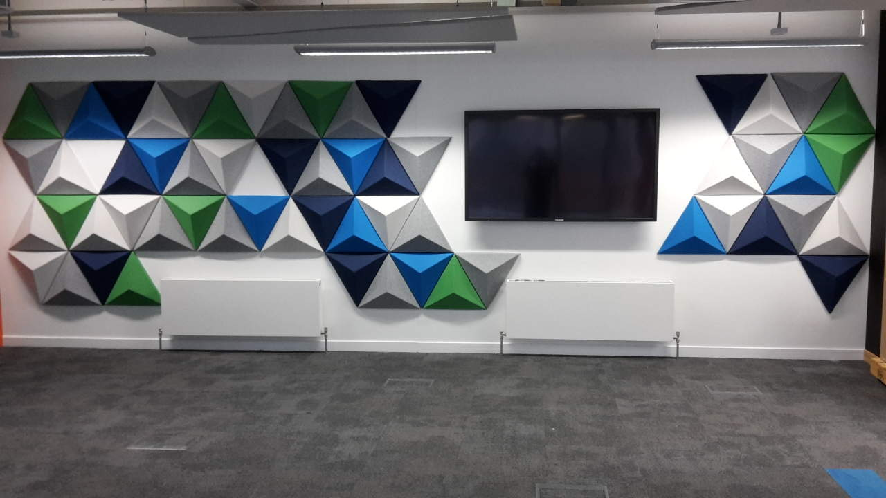 Autex Quietspace Panels - Olympic Park, London