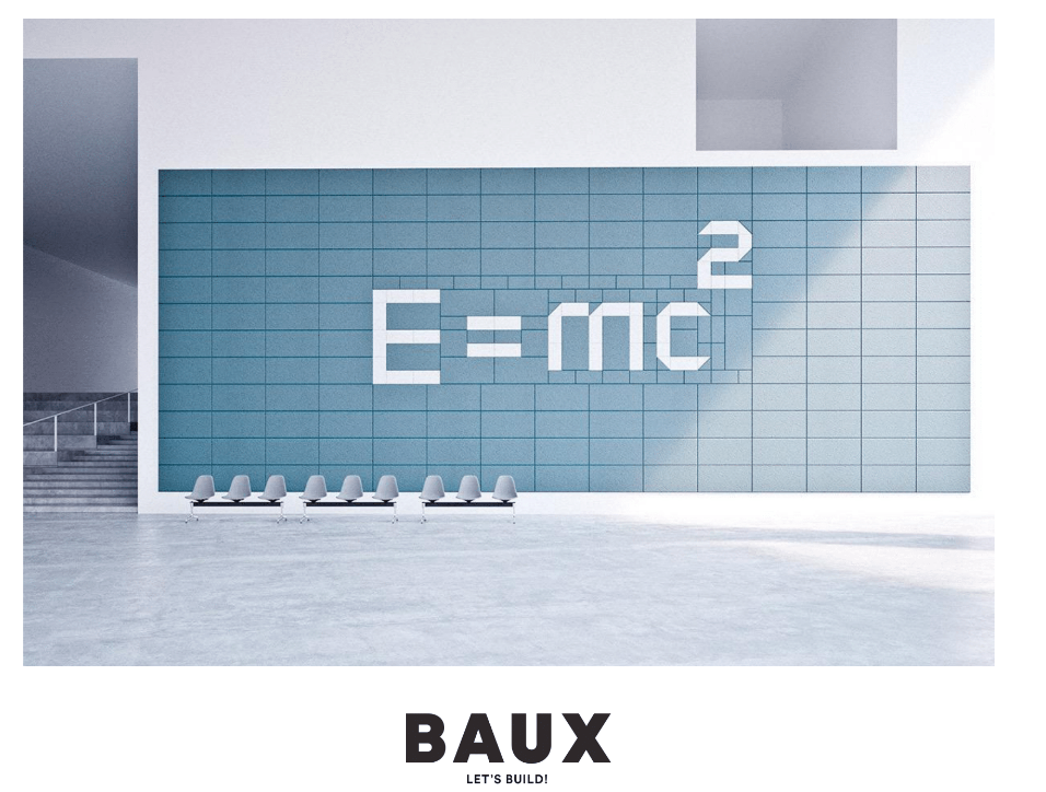 Baux Acoustic Tiles E=MC2