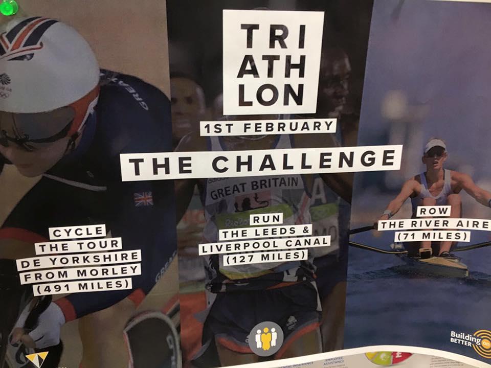 24 Hour Charity Triathlon